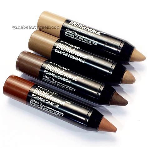 Maybelline Fashion Brow maybelline brow drama pomade crayon beautygeeks