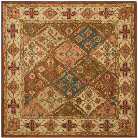 kitchen rugs 6ft safavieh heritage beige 6 ft x 6 ft square area rug