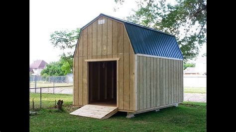 barngambrel shed  shed plans stout sheds llc