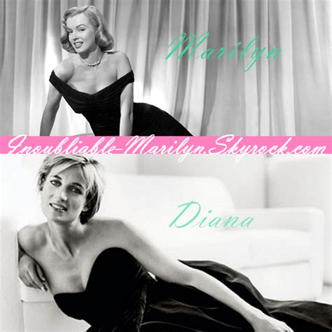 Comparing To Marilyn And Diana 2 by De Inoubliable Marilyn Marilyn Skyrock