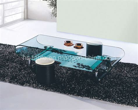 Living Room Glass Tables China Bent Glass Table Glass Coffee Table Living Room Furniture 2225 China Coffee Table