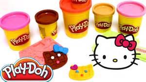 play doh kitty playset play dough playdo