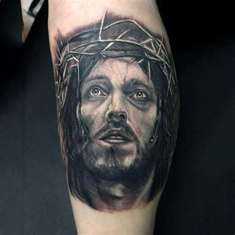 tattoo designs jesus face 100 jesus tattoos for cool savior ink design ideas