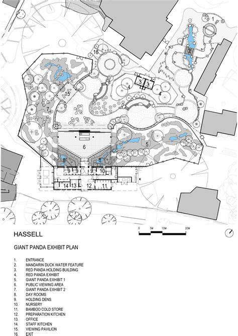 zoo floor plan gallery of adelaide zoo panda forest hassell 15