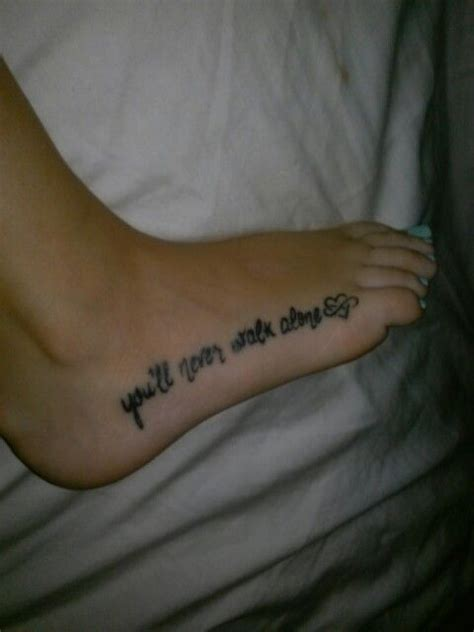 tattoo fixers you ll never walk my tattoo for my daughter and me quot you ll never walk alone