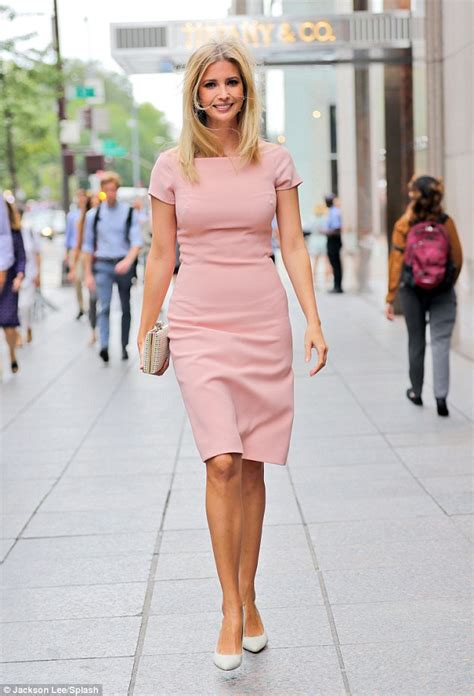More On Monday Dress Your Family In Corduroy And Denim By David Sedaris by Ivanka Struts To The Office In A Flattering Pink
