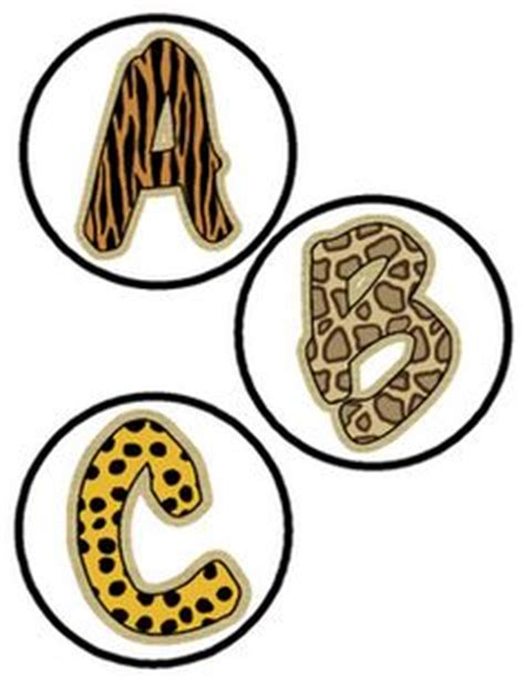 printable safari animal letters 1000 images about jungle on pinterest jungle theme