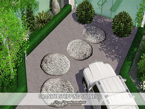 Which Granite Belongs To Catwgory 4 - pralinesims granite stepping stones 3