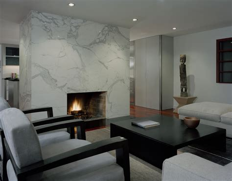 Living Room With Fireplace And Kitchen Marble Fireplace Surround Living Room Contemporary With