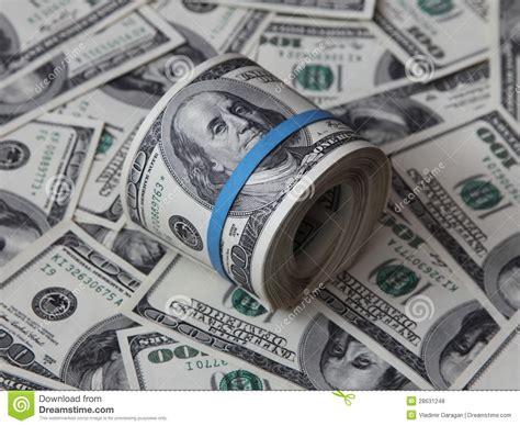 folded 100 dollar bill business card new dollar folded bunch of american hundred dollar bills royalty free