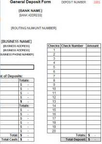 Bank Change Order Form Template by Deposit Form Template Deposit Form