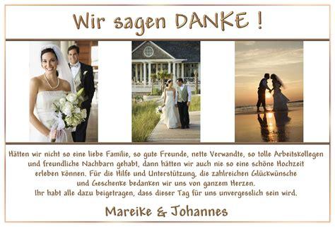 Danksagung Hochzeit dankeskarten hochzeit einladung zum paradies