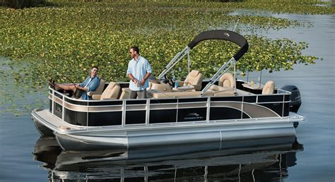 best deck boats for fishing sx22 fishing pontoon boats by bennington