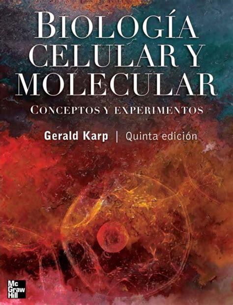 libro el presoner del cel libro biologia celular y molecular karp 5ed