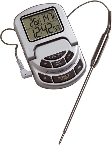 thermometre sonde cuisine thermom 232 tre de cuisson 224 sonde 233 lectronique 0 176 c 224 300 176 c
