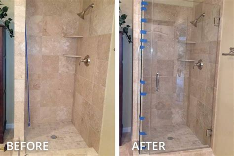 glass shower door installation install shower door how to install a glass shower door