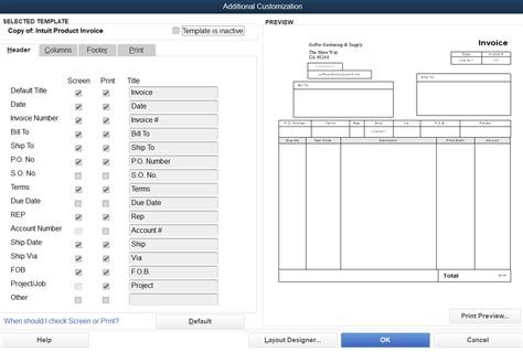 How To Customize Invoice Templates In Quickbooks Pro Merchant Maverick How To Change Invoice Template In Quickbooks