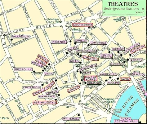 Basil Rathbone Master Of Stage And Screen Map Of London