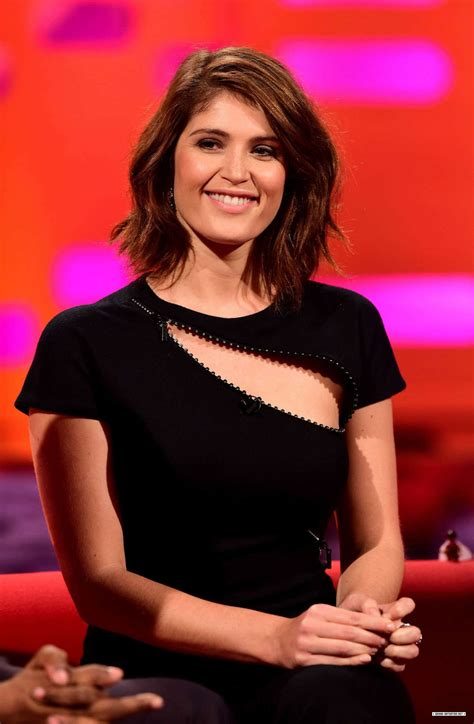 Gemma On Sabbatical by Gemma Arterton At The Graham Norton Show In