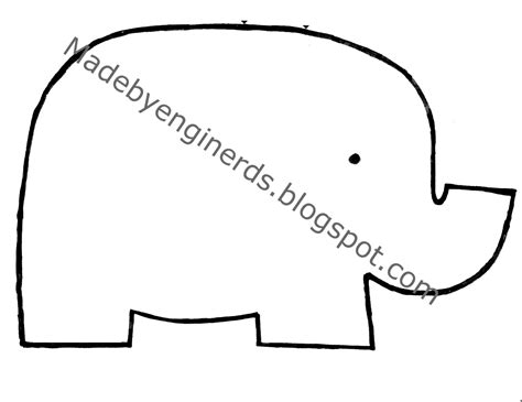 Made By Enginerds Elephant Stuffed Animal Tutorial With