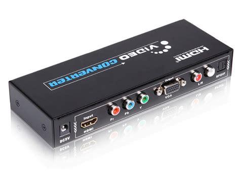 multy converter vga multi av converter hdmi to vga component audio