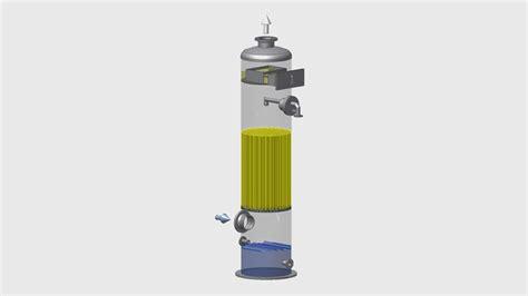 Vaccum Distillation Absorption Columns