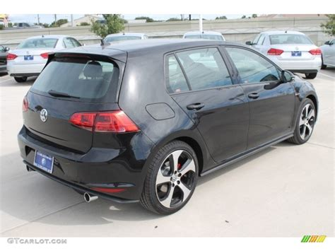2015 Gti S by 2015 Black Pearl Volkswagen Golf Gti 4 Door 2 0t S