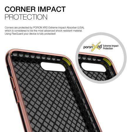 Patchworks Iphone 7 Plus Flexguard Black 1 patchworks flexguard iphone 7 plus h 252 lle rosa gold mobilefun de