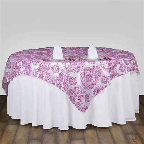 1 pc 60 quot x60 quot damask flocking table overlays buy wedding