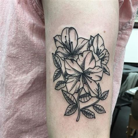 azalea tattoo azaleas for bookings email sarahlou st studio