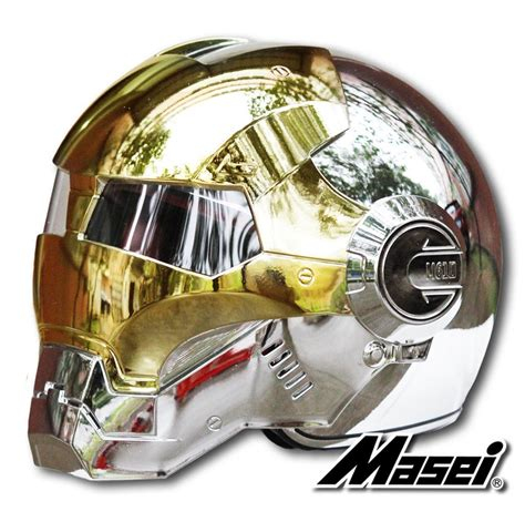 gold motorcycle masei gold silver chrome 610 atomic man motorcycle harley