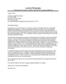 city manager cover letter sle resume cover letter