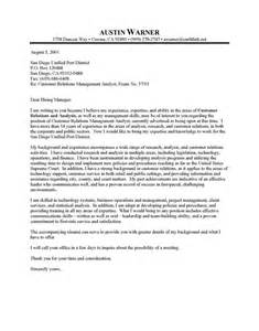 professional resume cover letter sle city manager