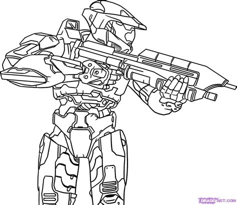 Halo Coloring Pages To Download And Print For Free Coloring Pages 4