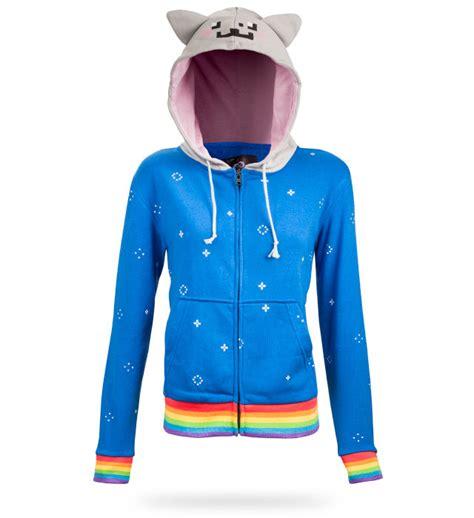 Cat Hoddie Jaket nyan cat hoodie