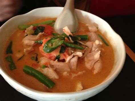 house of thai taste pang nang curry with chicken yelp