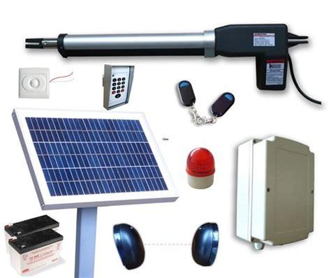 swing gate opener reviews affordable aleko as600 solar powered gate opener operator