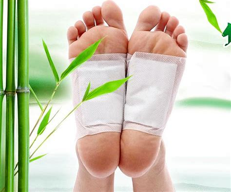 Side During Detox by 10pcs Cleansing Detox Foot Pads Detox Adhesive Pads Hkh