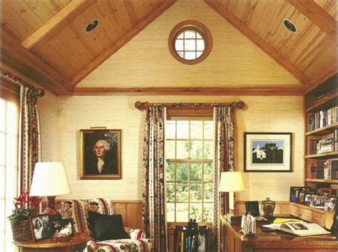 vaulted wooden ceiling