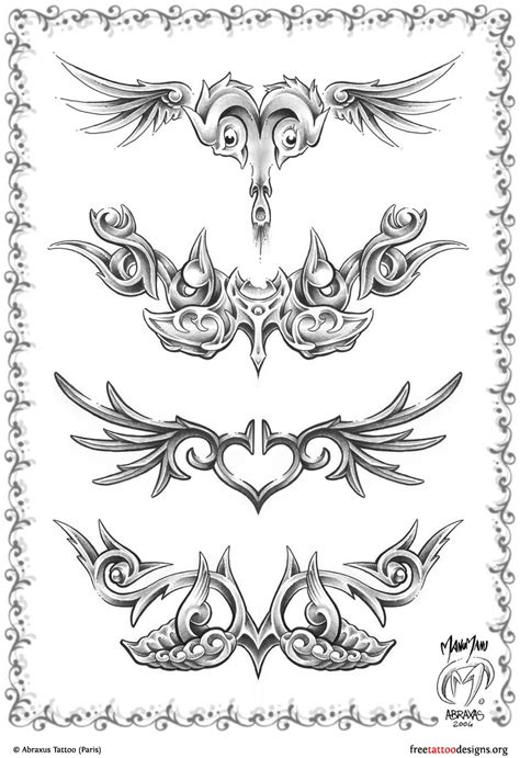 lower back wing tattoo designs 95 lower back tattoos tr st tribal designs