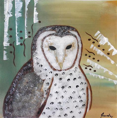 Conscious Art Studios Barn Owl Totem Symbolism Owl Meanings