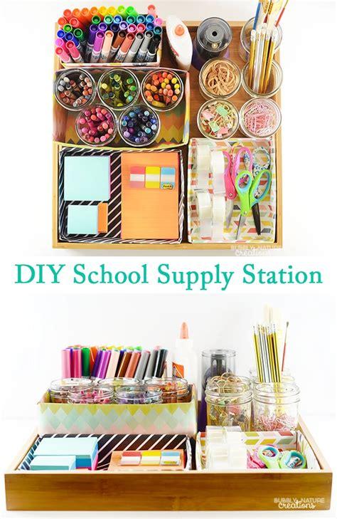 diy school supplies for diy school supply station sprinkle some