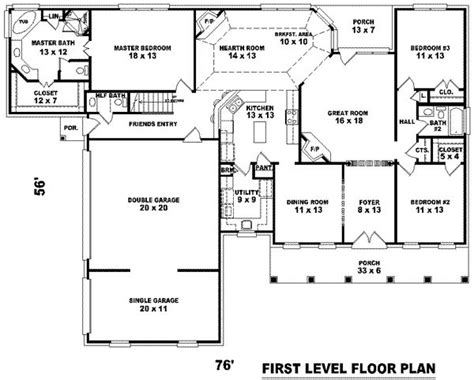 single story house plans 3000 sq ft 2 story house plans under 3000 sq ft