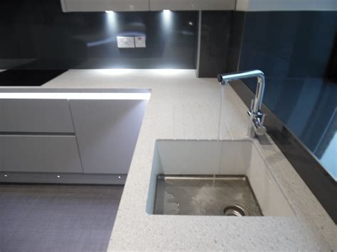 Corian Bar Sink Kitchen Design Newton Mearns