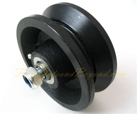 Best Seller In List Track cast iron v grove gate roller wheel vr4