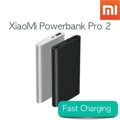 Power Bank Xiaomi 10000 Mah Original Powerbank Readl Capacity powerbank xiaomi 10000 mah versi 2 mi pro 2 power bank original apa saja ada