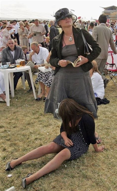 Last Day At Royal Ascot Resembles A Muddy Day At Glastonbury by Ascot Day 2014 Descends Into Carnage As Chavscot