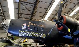 Friday Killer Bomber by Lucky For Some World War 2 Bomber Named Friday The 13th
