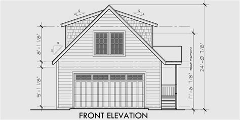 House Plans With A View To The Front by Carriage Garage Plans Guest House Plans 3d House Plans