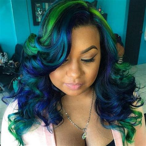 hairstyles with green highlights how to do pin up hairstyles for long curly hair